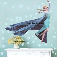 Extra Large FROZEN ELSA Snowflakes Wall Stickers Girls Bedroom Decor Nursery Art