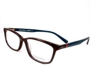 Rough Justice Eyeglasses Buzz Brown Orange Green Women Case 54-15-135