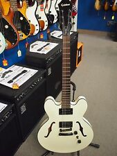 Epiphone Dot Studio AW Alpine White Hollow Body Electric Guitar B-stock Warranty