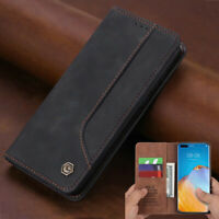 Luxury Magnetic Leather Wallet Flip Cover Case For Huawei P40 Pro Plus P40 Lite