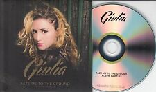 GIULIA Raze Me To The Ground Album Sampler 2014 UK 5-track promo only CD