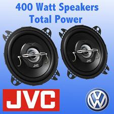 """VW Volkswagen Transporter T4 Front Dash 4"""" 10cm 2 way 400 Watts Van Speakers"""