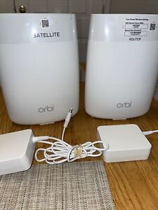Orbi Satellite RBS50 - Good condition (2) see pictures