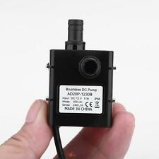 DC 12V 5W Micro Mini Ultra-quiet Brushless Water Pump Oil Car Submersible 0~75℃