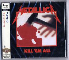 METALLICA-KILL 'EM ALL-JAPAN SHM-CD E50