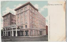 c1910 LITTLE ROCK Arkansas AR Postcard HOTEL MARION