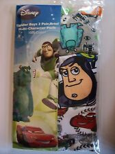 Monsters Inc Toy Story Cars Underwear Underpants Boys 3 Briefs Sz 2T3Toddler NIP