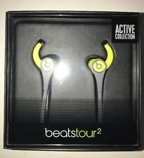 Genuine Beats Tour2 By Dr.Dre wired In-ear Headphones - Yellow