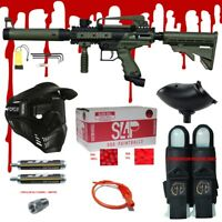 Tippmann CRONUS TACTICAL .68 CAL Paintball Gun Kit - READY PLAY BLOOD PACKAGE