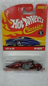 Hot Wheels Classics Series 2 W-Oozie Motorcycle 2005  #27 of 30 Harley Davidson