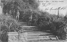 8635) GORIZIA GORZ SOLDATI NEL PARCO CORONINI. ANIMATA. VIAGGIATA.