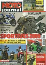MOTO JOURNAL N°1806 BMW S 1000 RR / SUZ GSX-R 1000 / TRANSALP / DL 650 / F 650GS