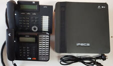 LG-Ericsson iPECS eMG80 with 7 handsets, GST inc,12 months wty