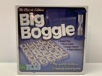 New Sealed Big Boggle Classic Edition Family Word Game Hasbro Age 8+/ Players 2+
