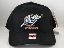 NBA Washington Wizards Vintage American Needle Fitted Hat Cap Size 7 1/4 Black