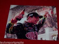 JEFF GORDON Signed NASCAR RACING WIN 8X10 Photo 2 GLOBAL MOTORSPORTS CERTIFIED