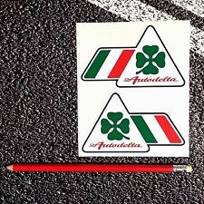 ALFA ROMEO Clover Leaf Autodelta Wing Stickers Brera S 159 146 Alfasud GTV GTA
