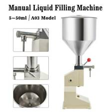 5-50ml Liquid Filling Machine For Cream Shampoo Paste Water Manual Remplissage