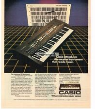 1982 Casio CASIOTONE 701 Keyboard Musical Instrument Vtg Print Ad