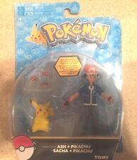 TOMY POKEMON Ash & Pikachu HERO Pokémon  ARTICULATED New Action Figure