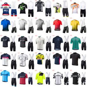 Cycling Jersey Set Mens Bike Clothes Summer Shirt Maillot Ropa Ciclismo A22
