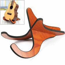 More details for electric acoustic guitar racks bracket ukulele stand wooden guitar stand rack uk