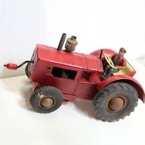 Alter Gama Blech Traktor US Zone, 17 cm, funktionsfähig