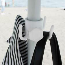 Portable Beach Umbrella Plastic Hanging Hooks 4 Prongs Trips Camping For O1W3