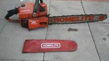 "HOMELITE 360 AUTOMATIC CHAINSAW WITH 20"" BAR VINTAGE CLEAN"