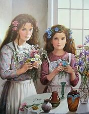 """PATI BANNISTER """"Wildflowers"""" Print Signed and Numbered"""