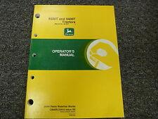 John Deere 9300T 9400T Crawler Tractor Owner Owner's Operator Manual OMAR172616