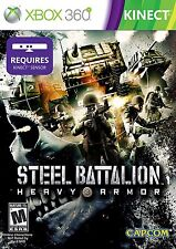 Steel Battalion Heavy Armor KINECT XBOX 360 CAPCOM NEW! WARFARE, WAR DUTY CALL