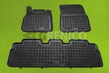 Gummi-Fußmatten RENAULT ESPACE 4 IV 3tlg 2002-2014  Gummimatten