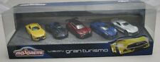 Majorette Model Car metal DieCast Vision Gran Turismo Giftpack with 5 cars