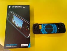 NEW Logitech POWERSHELL CONTROLLER + BATTERIA 940-000152 per IPHONE 5/5S IPOD 5a