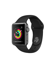 Apple Watch Series 3 GPS / 38mm Aluminium / Black / Sports Band / Warranty / AW2