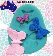3D Butterfly Mould Embroidery Lace Mold Silicone Baking DIY Tool Fondant Sugar