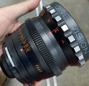 Cineovision 50mm F/1.4 Bncr Mount Cine Lens Exc++ Zeiss Contax