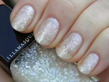NEW IN BOX! ILLAMASQUA nail polish lacquer in BLIZZARD ~ Snow Glitter