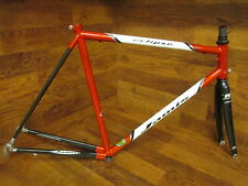 VINTAGE JAMIS ECLIPSE REYNOLDS 853 STEEL & CARBON ROAD BIKE FRAME SET 55CM
