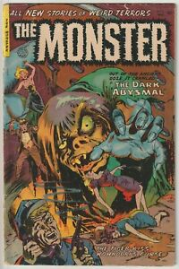 The Monster #2 VG+ 4.5 Fiction House, Maurice Whitman cover, original owner book
