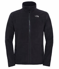 The North Face 100 Glacier Full Zip Jackets Fleece L-tnf Black