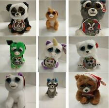 Feisty Pets - Soft Plush Stuffed Scary Face Toy Animal With Attitude 8 Styles