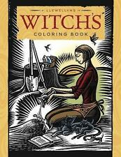New, Llewellyn's Witch's Coloring Book, Llewellyn, Vibbert, Caroline, Hsu, Wen,