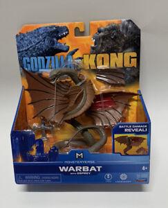 Playmates Toys Godzilla vs Kong Warbat W/Osprey New