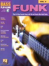 Funk Bass Play-Along Noten Tab mit Download Code