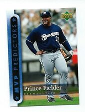 2007 Upper Deck  Predictor MVP  Baseball  Prince Fielder Card  #  MVP53