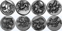 Athena and Pegasus 4 Famous Greek Coins, Percy Jackson Fans (4AthPeg-S)