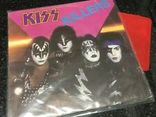KISS Killers LP 6302193 Rare New Zealand Release Casablanca Label 1982 VGC