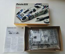 Testors 1/24 Porsche 917 K Model Kit Open Box + Gulf UMI Martini Decals 1987
